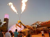 火を噴くカマキリ The Mantis