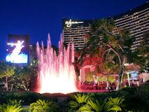Wynn の噴水ショー