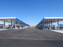 世界最大の給油所