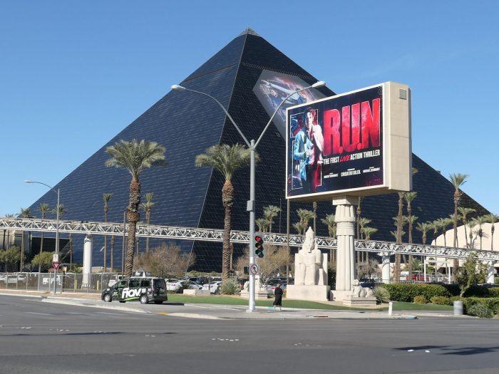 ルクソールホテルのピラミッド