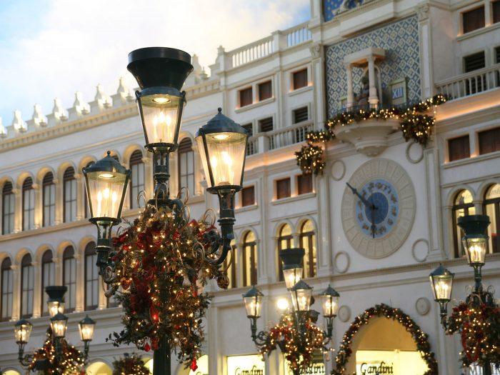 ベネチアンホテルのサンマルコ広場