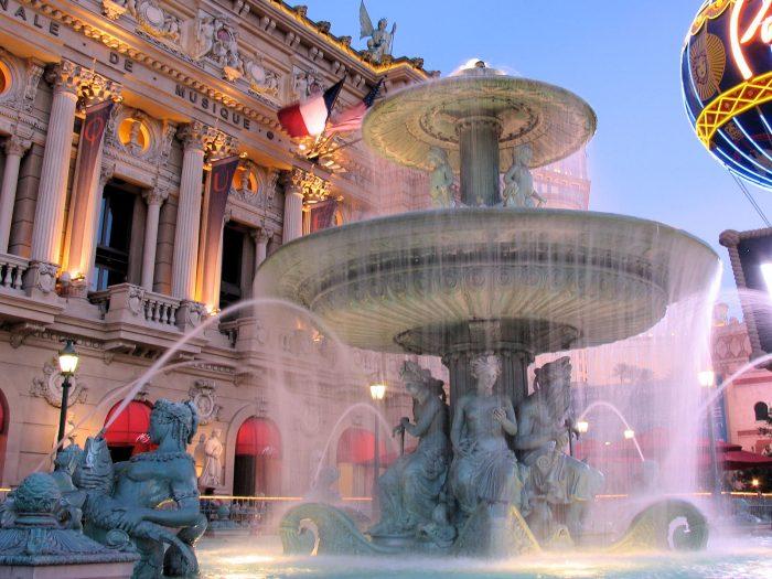 かつて存在していたコンコルド広場の噴水
