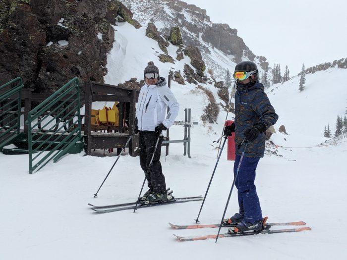 同行した日本人スキーヤー