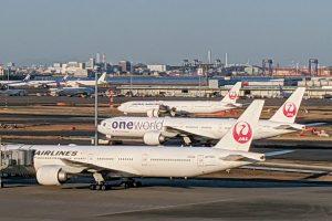 羽田空港・国際線ターミナル(3月末から「第3ターミナル」に名称変更)から滑走路側を見た様子(2月11日撮影)