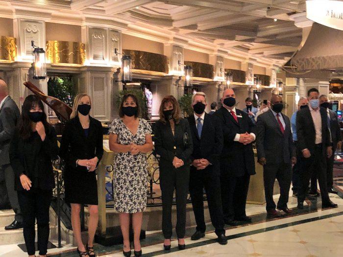 ベラージオホテルのスタッフたち