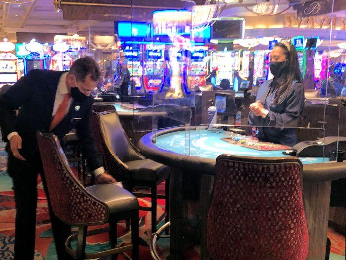 ベラージオホテルのカジノ
