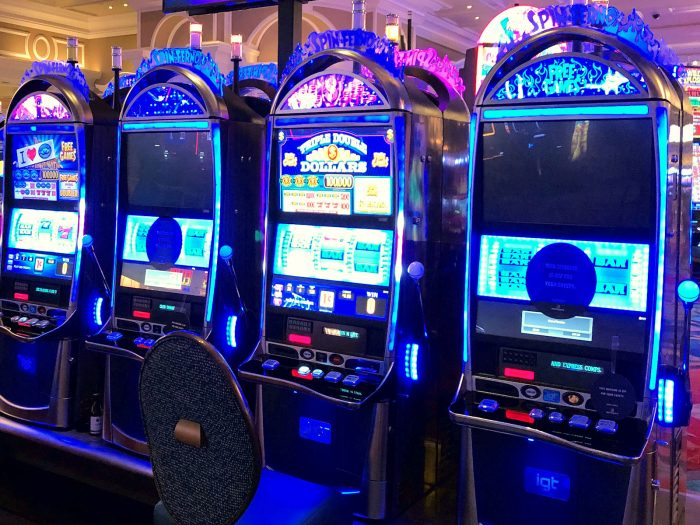 ベラージオホテルのカジノのスロットマシン