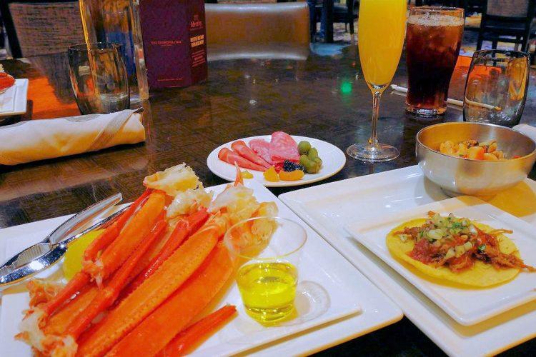 コスモポリタンホテルのバフェが4ヶ月ぶりに営業再開。