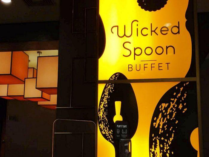 Wicked Spoon Buffet の入口付近の様子