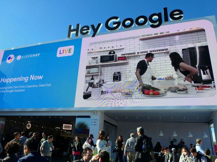 Google の巨大ブース