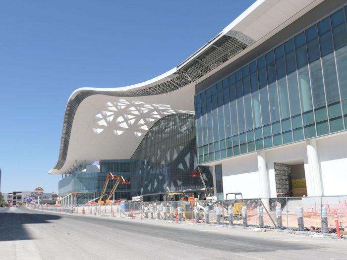 ラスベガスコンベンションセンターの西ホール。