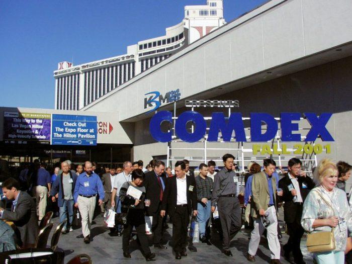 COMDEX (2001年開催)