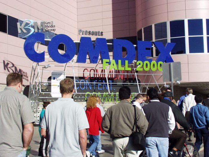 COMDEX(2000年開催)
