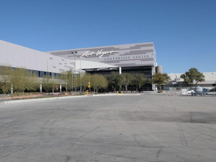 だれもいないラスベガスコンベンションセンター。(2021/1/12)
