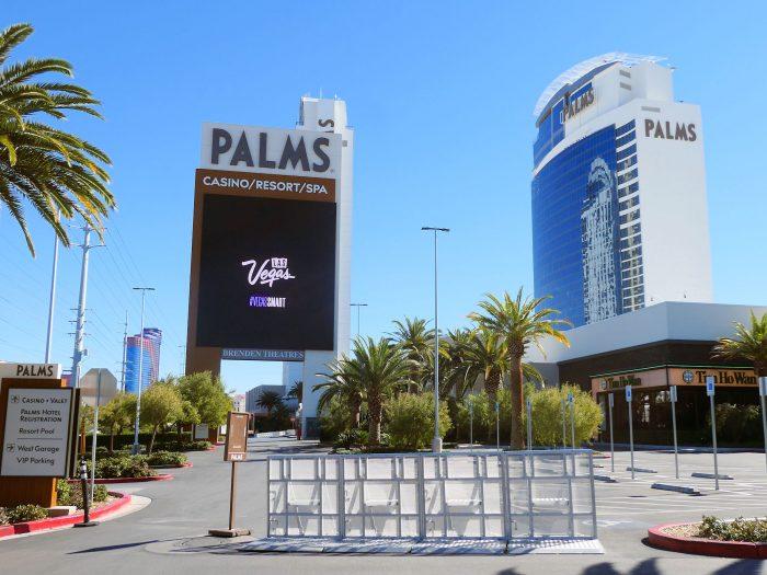 現在の PALMS。昨年の3月の非常事態宣言以降、閉鎖状態が続いている。