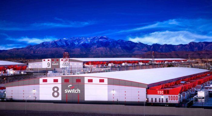 Switch社のデータセンターのCG画像。(同社のサイトから)