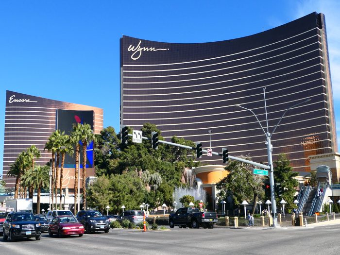6位: Wynn Las Vegas、一つの縞模様は2フロア分。